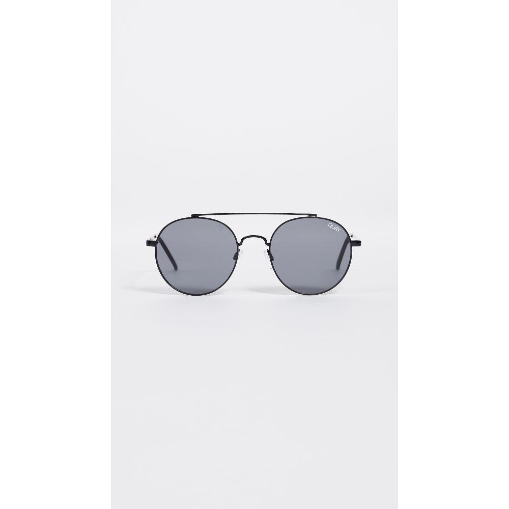 ce567503fb46 キー Quay レディース メガネ·サングラス【Outshine Sunglasses】Black/Smoke キー レディース ファッション小物  メガネ·サングラス 【サイズ交換無料】
