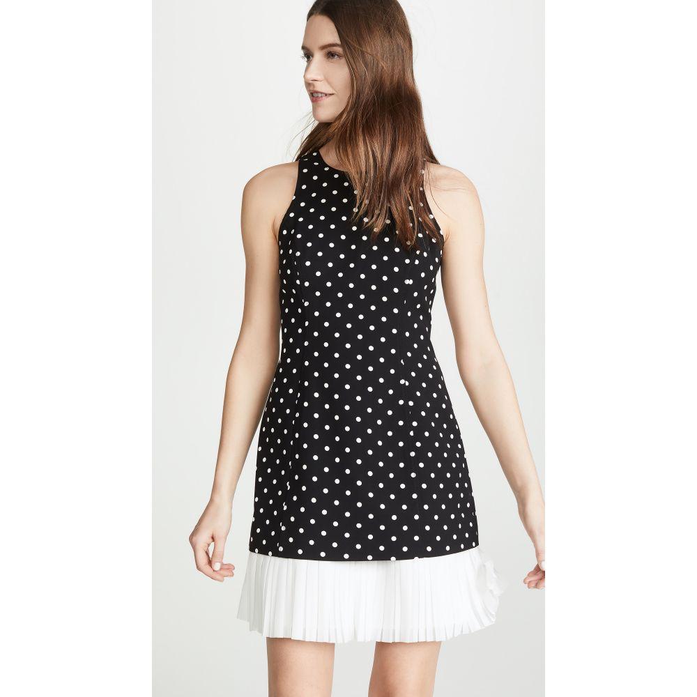サンク ア セプト Cinq a Sept レディース ワンピース・ドレス ワンピース【Dotted Catriona Dress】Black/White