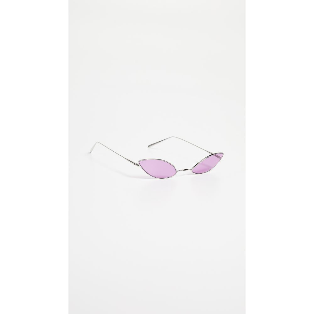 アクネ ストゥディオズ Acne Studios レディース メガネ・サングラス【Astaria Sunglasses】Silver/Purple