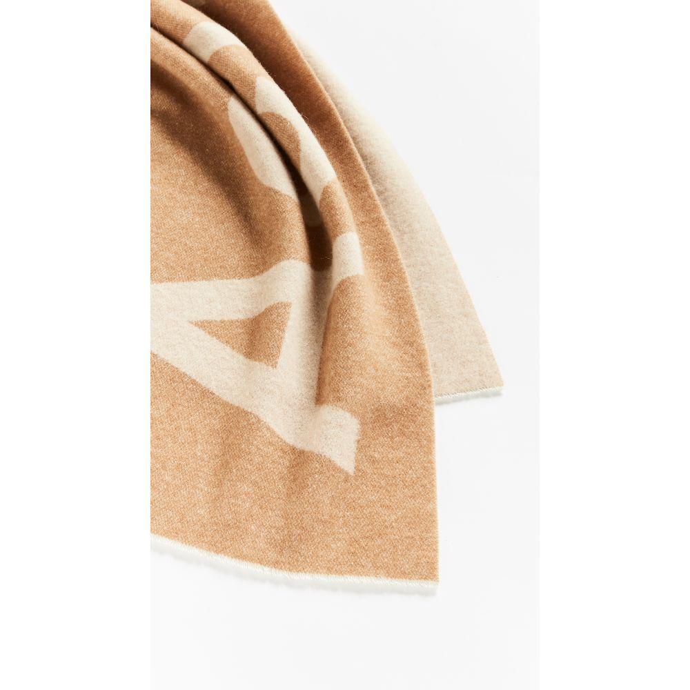 アクネ ストゥディオズ Acne Studios レディース マフラー・スカーフ・ストール【Toronty Logo Scarf】Camel/Brown