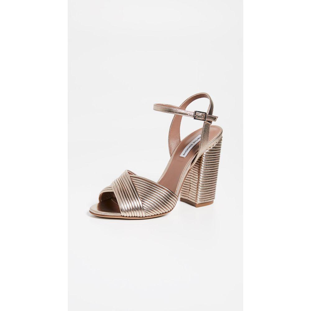 タビサ シモンズ Tabitha Simmons レディース シューズ・靴 サンダル・ミュール【Kali Heeled Sandals】Rose Gold Metallic