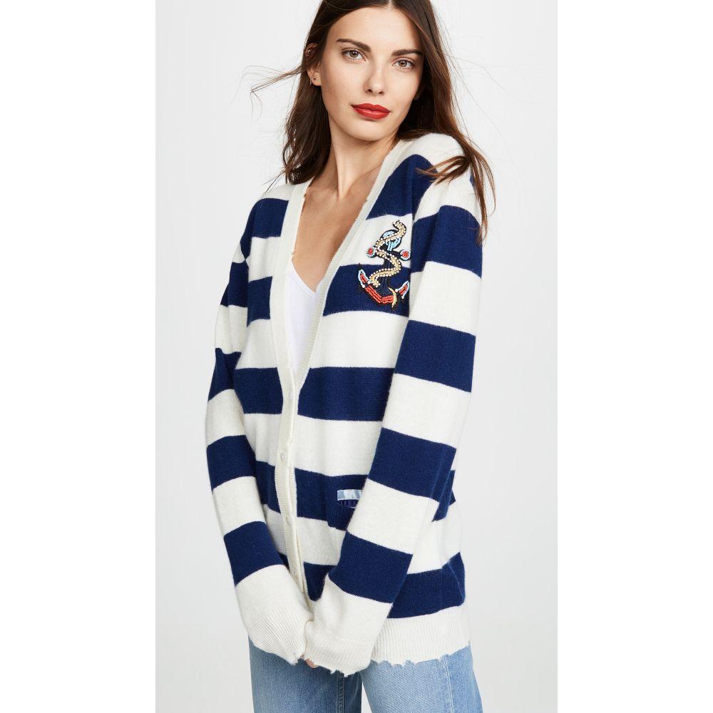 ル シュペルブ Le Superbe レディース トップス ニット・セーター【BFS Cashmere Sweater】Blue/Cream Stripe