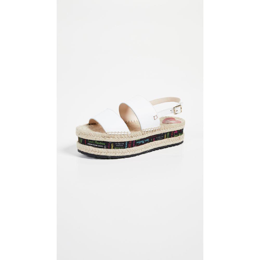 モスキーノ Moschino レディース シューズ・靴 サンダル・ミュール【Rope Sandals】White/Multi