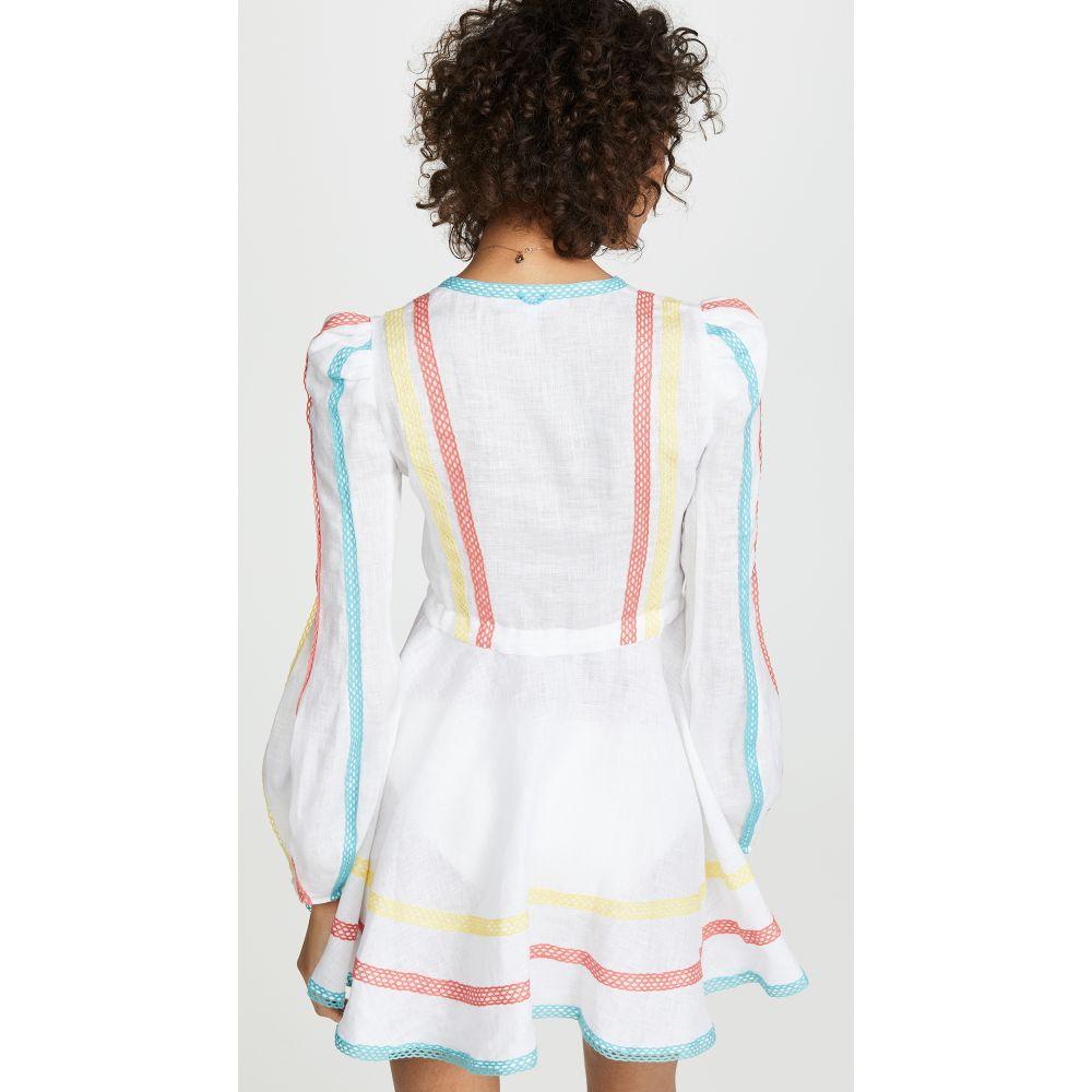 ア ミア A Mere Co レディース 水着・ビーチウェア ビーチウェア【Victoria Dress】White Multi