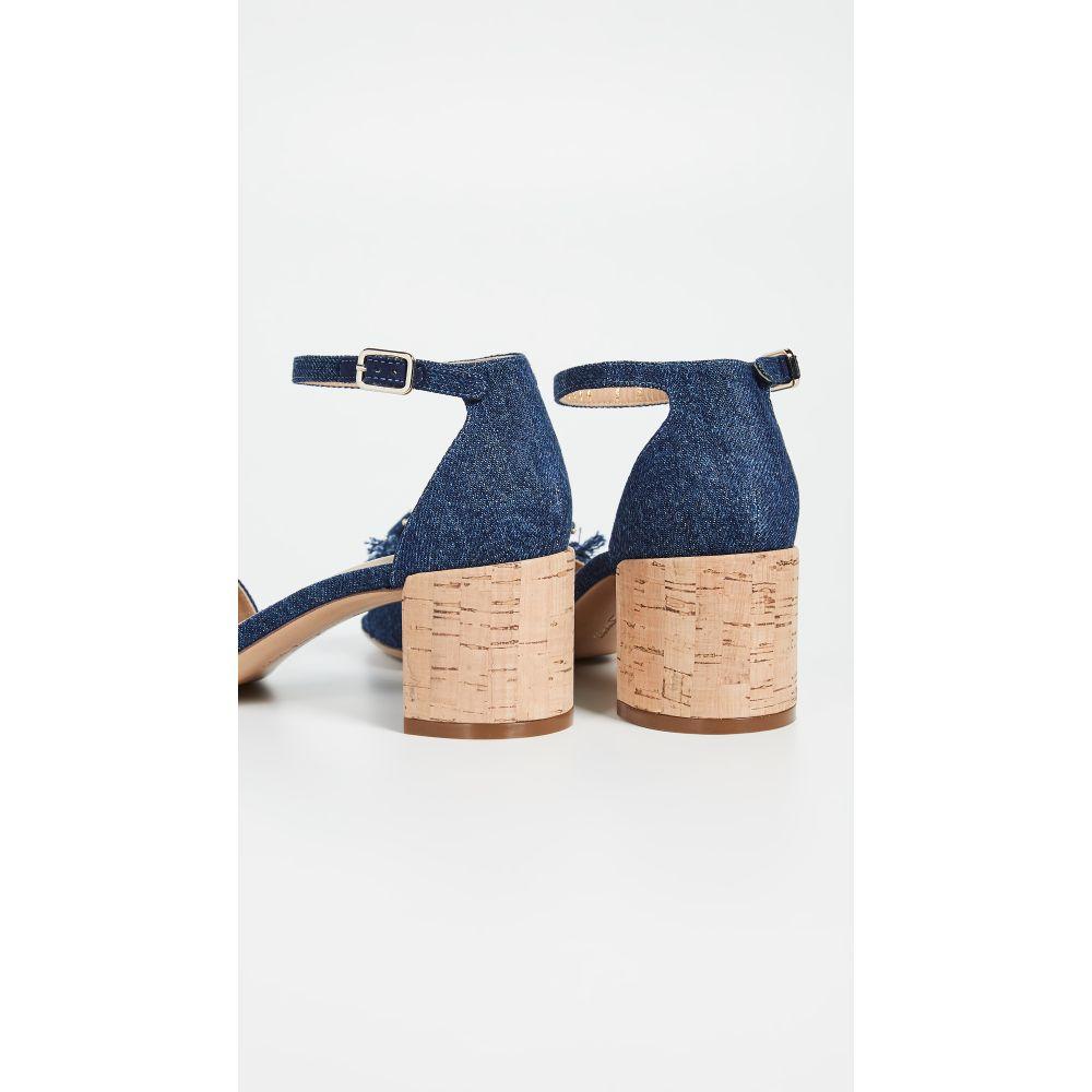 サルヴァトーレ フェラガモ Salvatore Ferragamo レディース シューズ・靴 サンダル・ミュール【Gavina Jeans Sandals】Navy
