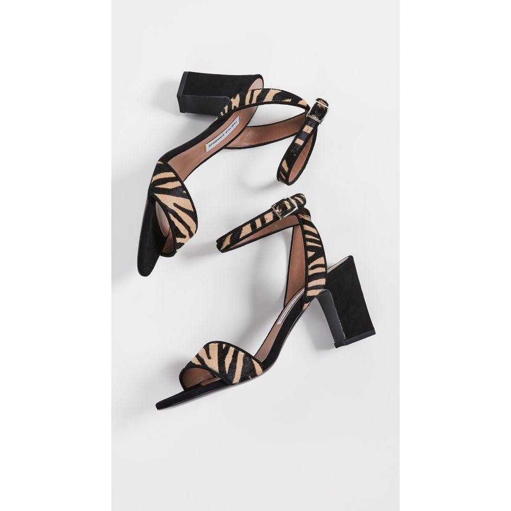 タビサ シモンズ Tabitha Simmons レディース シューズ・靴 サンダル・ミュール【Leticia Heeled Sandals】Zebra/Black