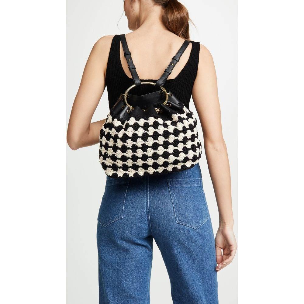 レイチェル コーミー Rachel Comey レディース バッグ バックパック・リュック【Mini Cash Backpack】Black/White