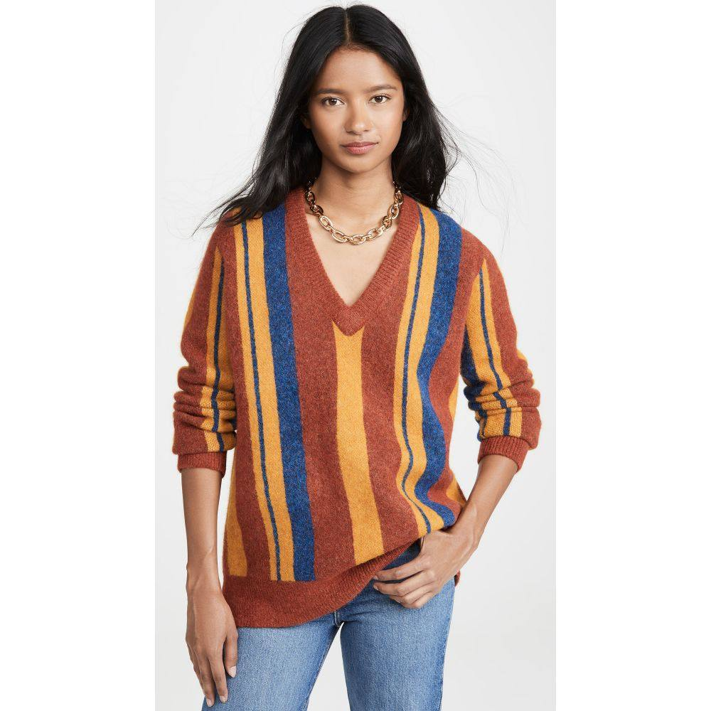 サイモンミラー Simon Miller レディース トップス ニット・セーター【Miz Alpaca Sweater】Sweater Multi Stripe
