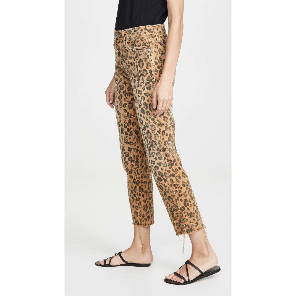アモ AMO レディース ボトムス・パンツ ジーンズ・デニム【Loverboy Relaxed Straight Jeans】Leopard