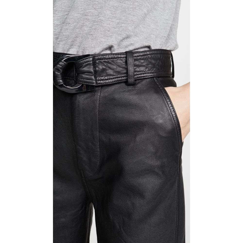 ジェイ ブランド J Brand レディース ボトムス・パンツ スキニー・スリム【Jonah High Rise Leather Pants】Black