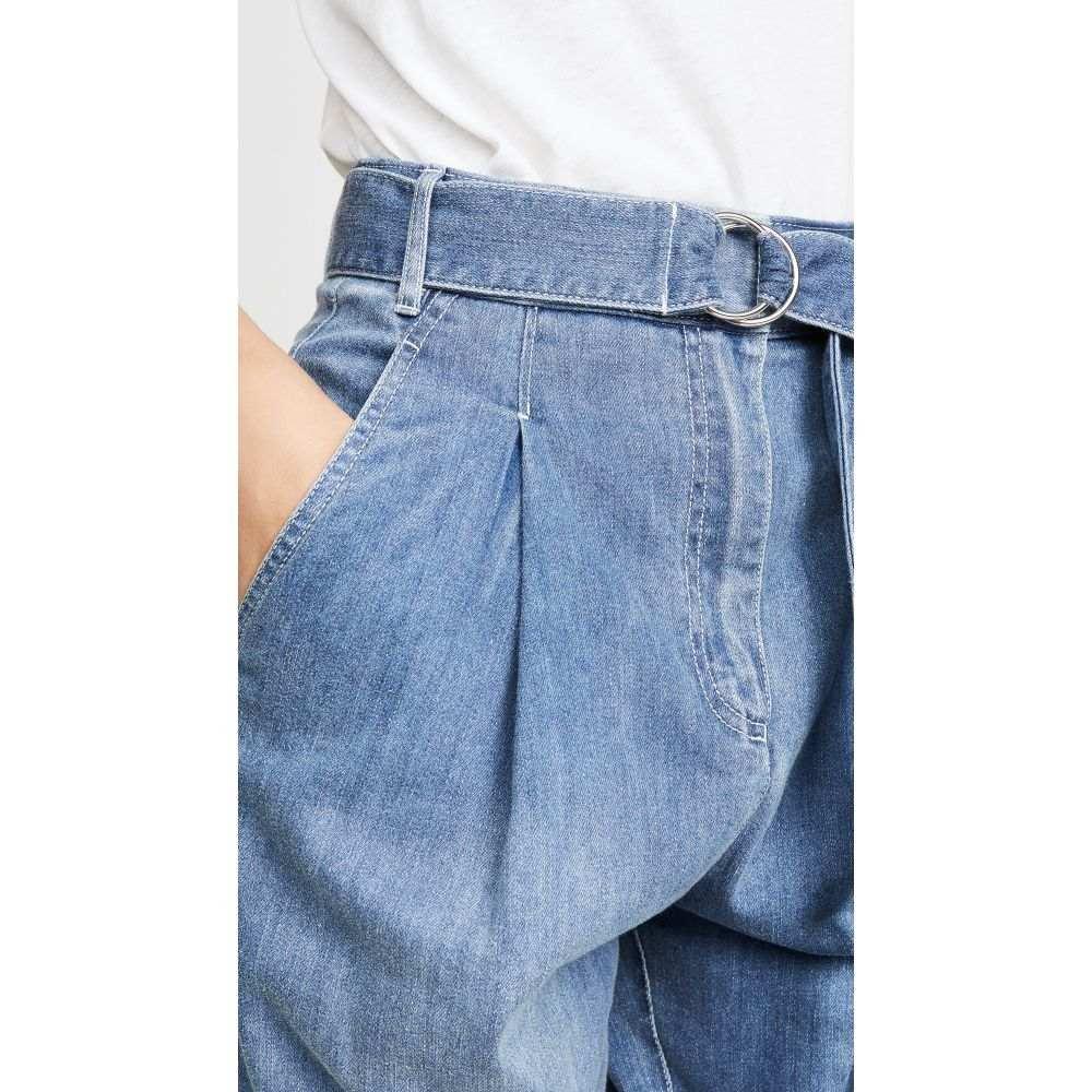 ティビ Tibi レディース ボトムス・パンツ ジーンズ・デニム【Denim Sculpted Pleat Pants】Vintage Stone