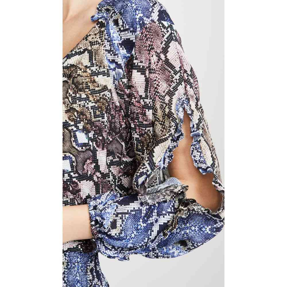 パーカー Parker レディース ワンピース・ドレス ワンピース【Gladis Dress】Python Multi