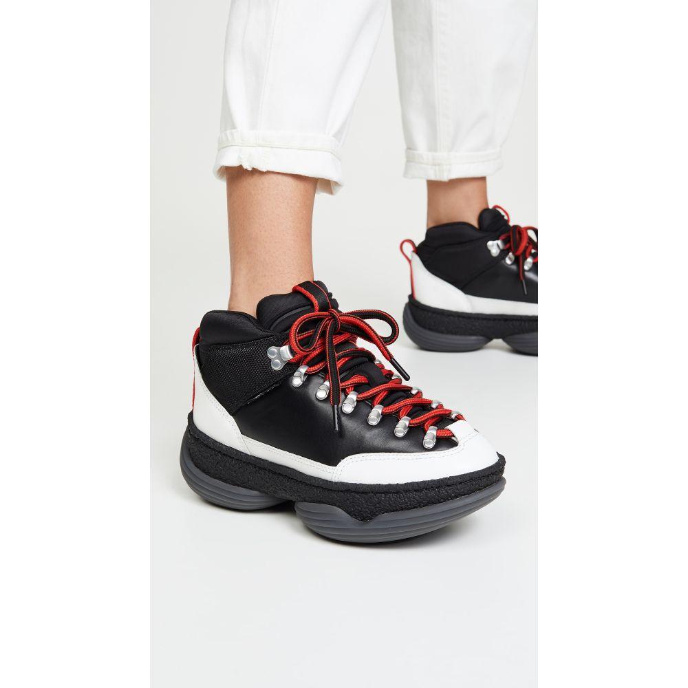 アレキサンダー ワン Alexander Wang レディース ハイキング・登山 シューズ・靴【A1 Hiker Sneakers】Black/White/Red