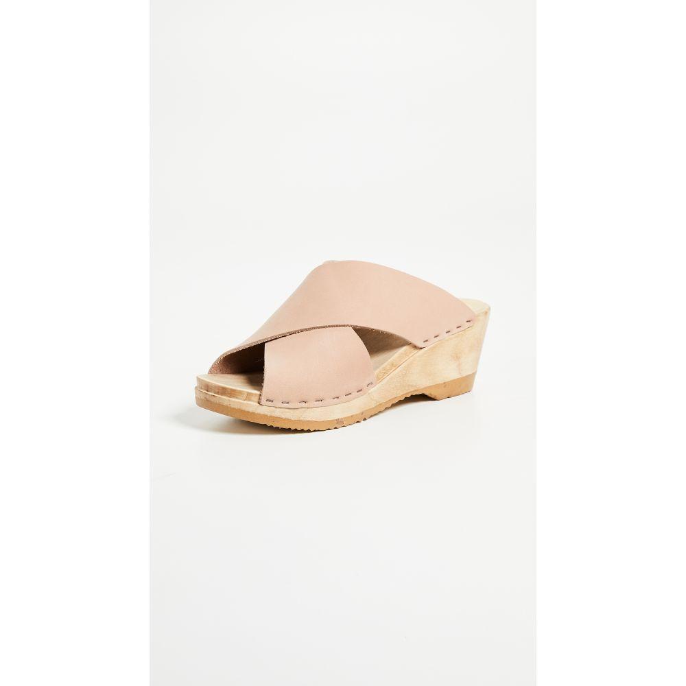 ナンバーシックス No.6 レディース クロッグ ウェッジソール シューズ・靴【Frida Wedge Clogs】Pink Sand