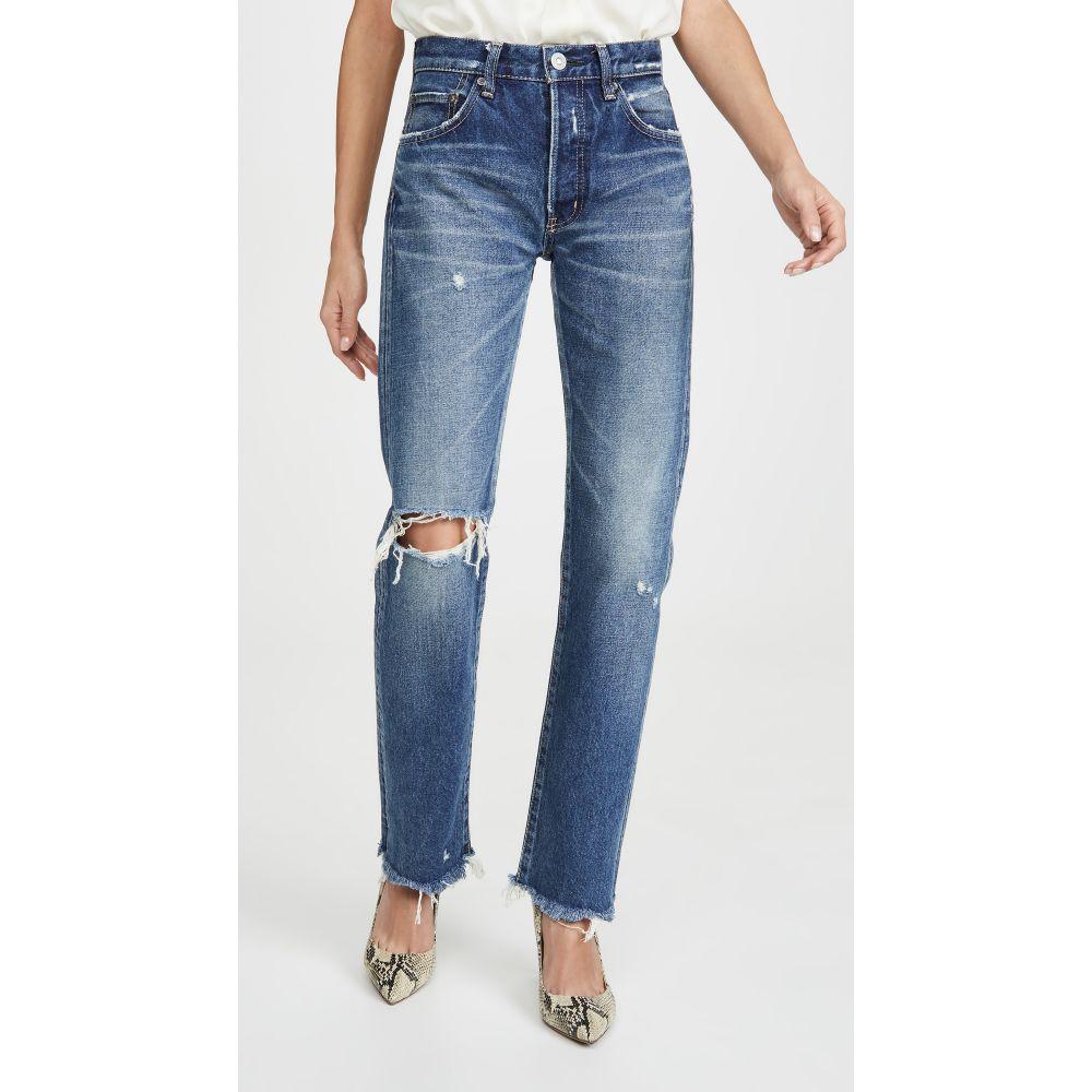 ボトムス, パンツ  MOUSSY VINTAGE Guilford Straight JeansBlue