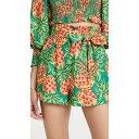 ファーム FARM Rio レディース ショートパンツ ボトムス・パンツ【Pineapple Galore Paper Bag Shorts】Multi