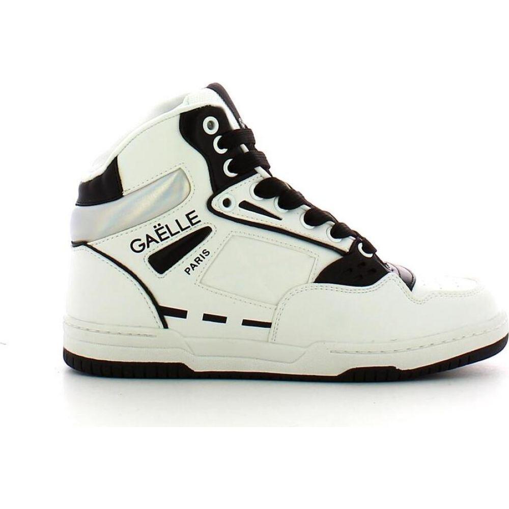レディース靴, スニーカー  GAELLE PARIS White High-Top SneakersWhite