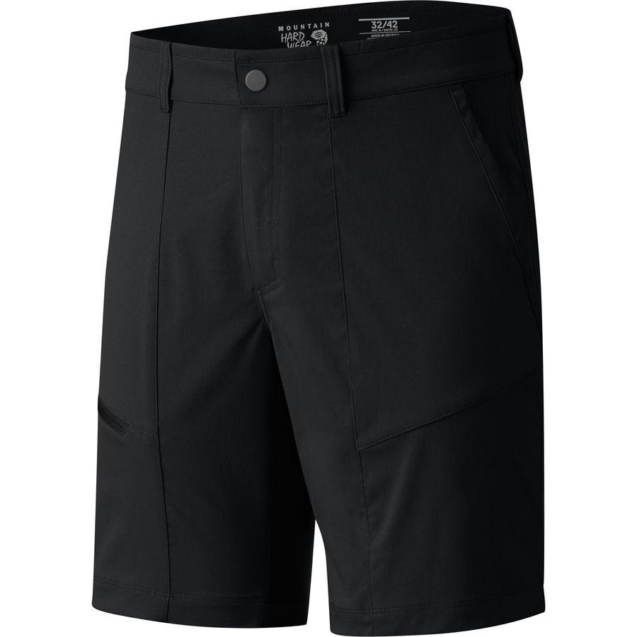 マウンテンハードウェア Mountain Hardwear メンズ ハイキング ウェア【Shilling Short】Black