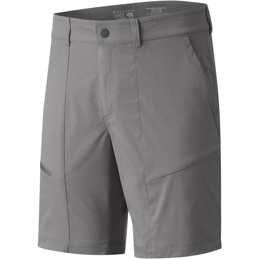 マウンテンハードウェア Mountain Hardwear メンズ ハイキング ウェア【Shilling Short】Manta Grey