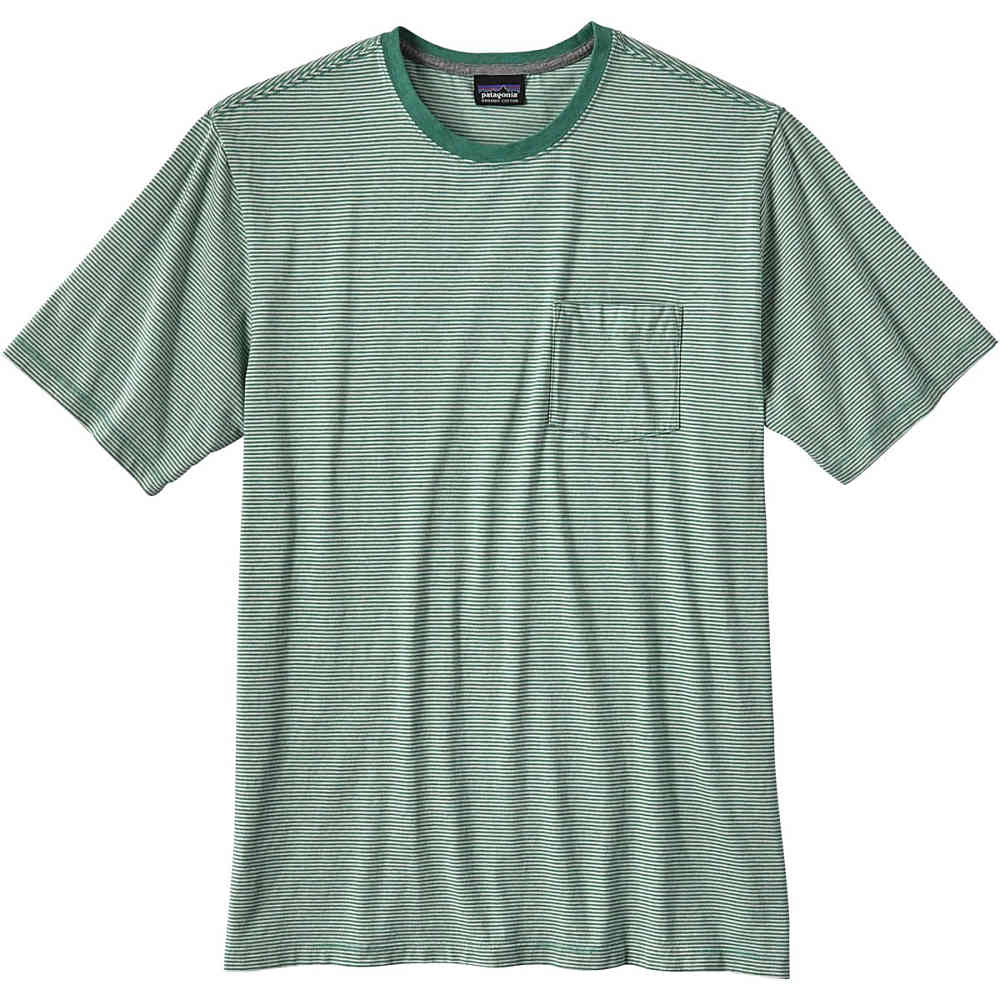 Patagonia t squeaky clean pocket t for Cross counter tv shirts