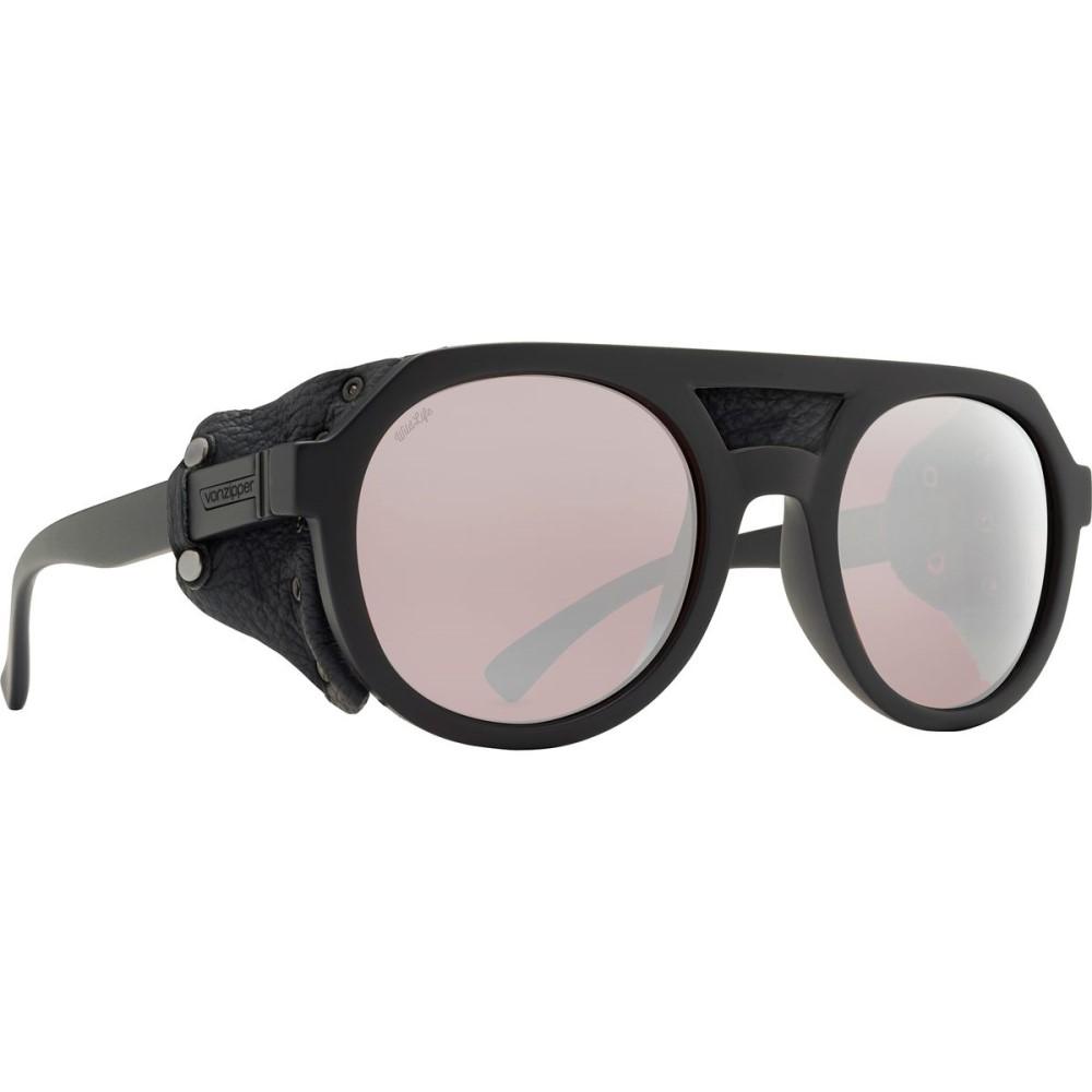 ボンジッパー VonZipper レディース アクセサリー メガネ・サングラス【Psychwig Glacier Wildlife Sunglasses - Polarized】Black Satin/Rose Chrome:フェルマート