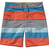 パタゴニア Patagonia メンズ 水着 海パン【Printed Wavefarer Board Shorts】Fitz Stripe/Catalyst Blue