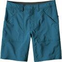 パタゴニア Patagonia メンズ クライミング ウェア【Belgrano 10in Shorts】Big Sur Blue