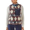 パタゴニア レディース トップス ベスト・ジレ【Classic Retro - X Fleece Vest】Brass Hawk/Smolder Blue