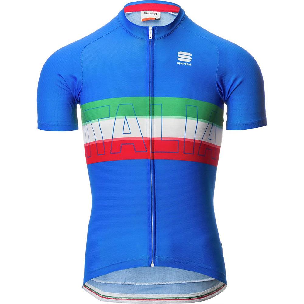 スポーツフル メンズ 自転車 トップス【Italia Jerseys】Electric Blue