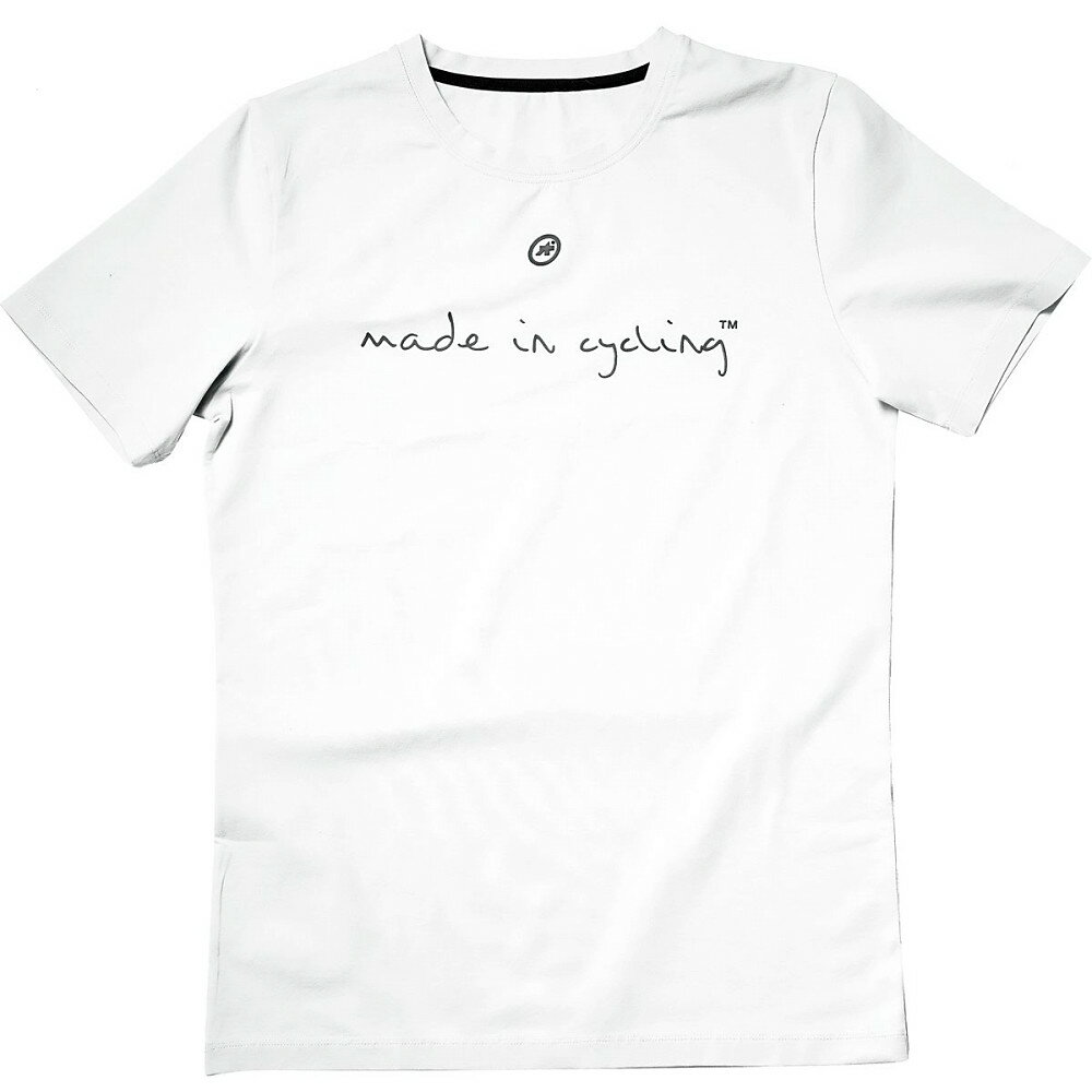アソス メンズ 自転車 トップス【Made In Cycling T - Shirt - Short - Sleeves】Holywhite