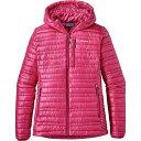 パタゴニア レディース アウター ダウンジャケット【Ultralight Down Hooded Jacket】Craft Pink