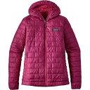 パタゴニア レディース アウター ジャケット【Nano Puff Hooded Insulated Jacket】Magenta