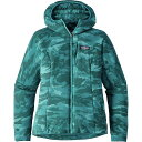 パタゴニア レディース アウター ジャケット【Nano - Air Hooded Jacket】El Nino Camo/Elwha Blue