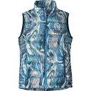 パタゴニア レディース トップス ベスト・ジレ【Down Sweater Vest】Rivermouth/Big Sur Blue