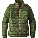 パタゴニア レディース アウター ダウンジャケット【Down Sweater Jacket】Buffalo Green