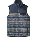 パタゴニア メンズ トップス ベスト・ジレ【Lightweight Synchilla Snap - T Fleece Vests】Laughing Waters/Smolder Blue