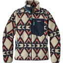 パタゴニア レディース アウター ジャケット【Classic Retro - X Fleece Jacket】Brass Hawk/Smolder Blue