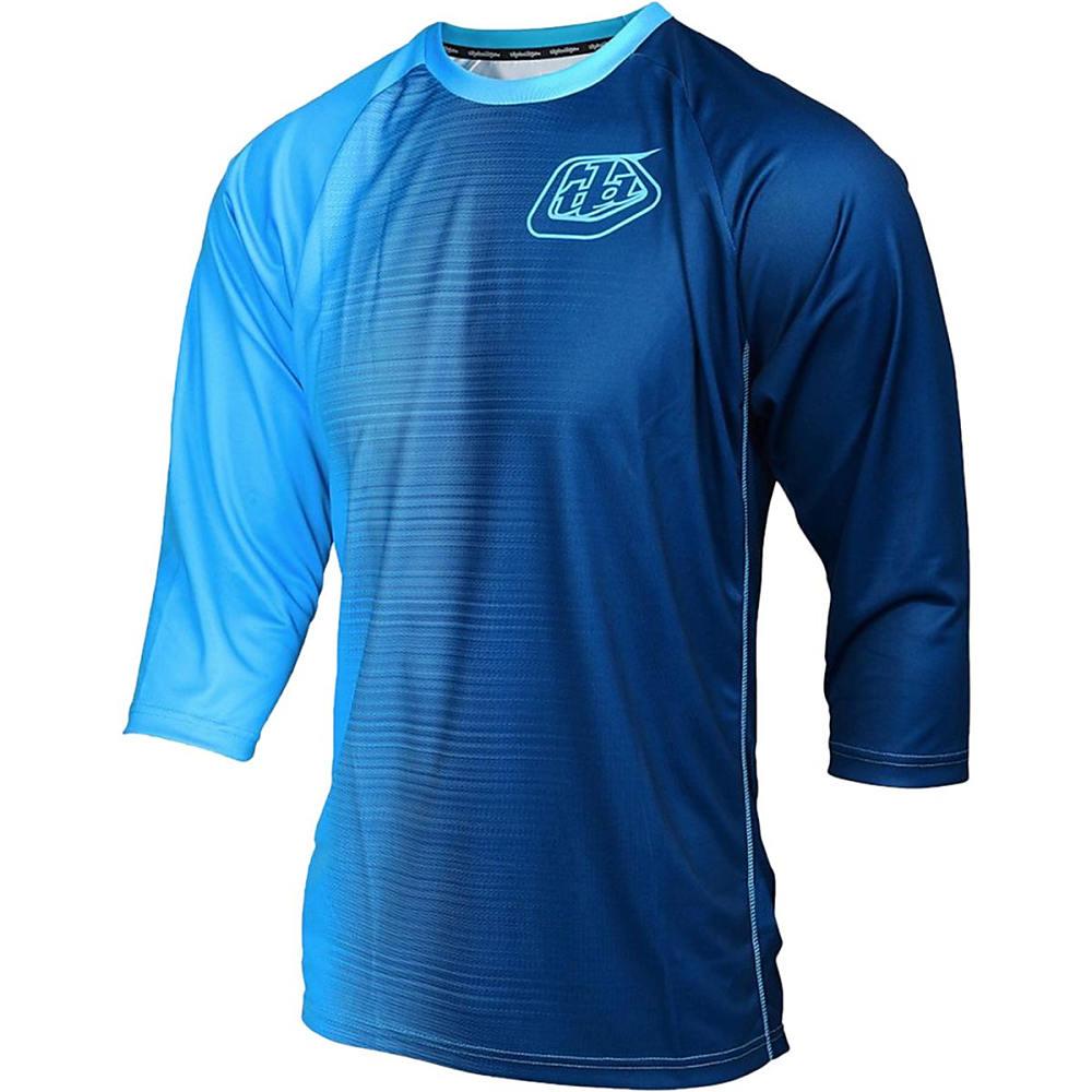 トロイリーデザイン メンズ 自転車 トップス【Ruckus Jerseys】50/50 Blue