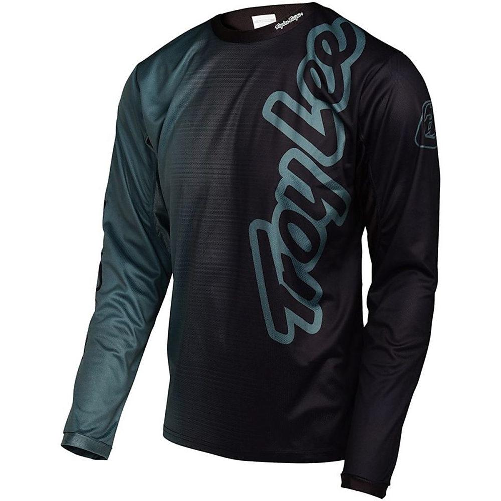 トロイリーデザイン メンズ 自転車 トップス【Sprint Jersey - Long Sleeves】50/50 Black
