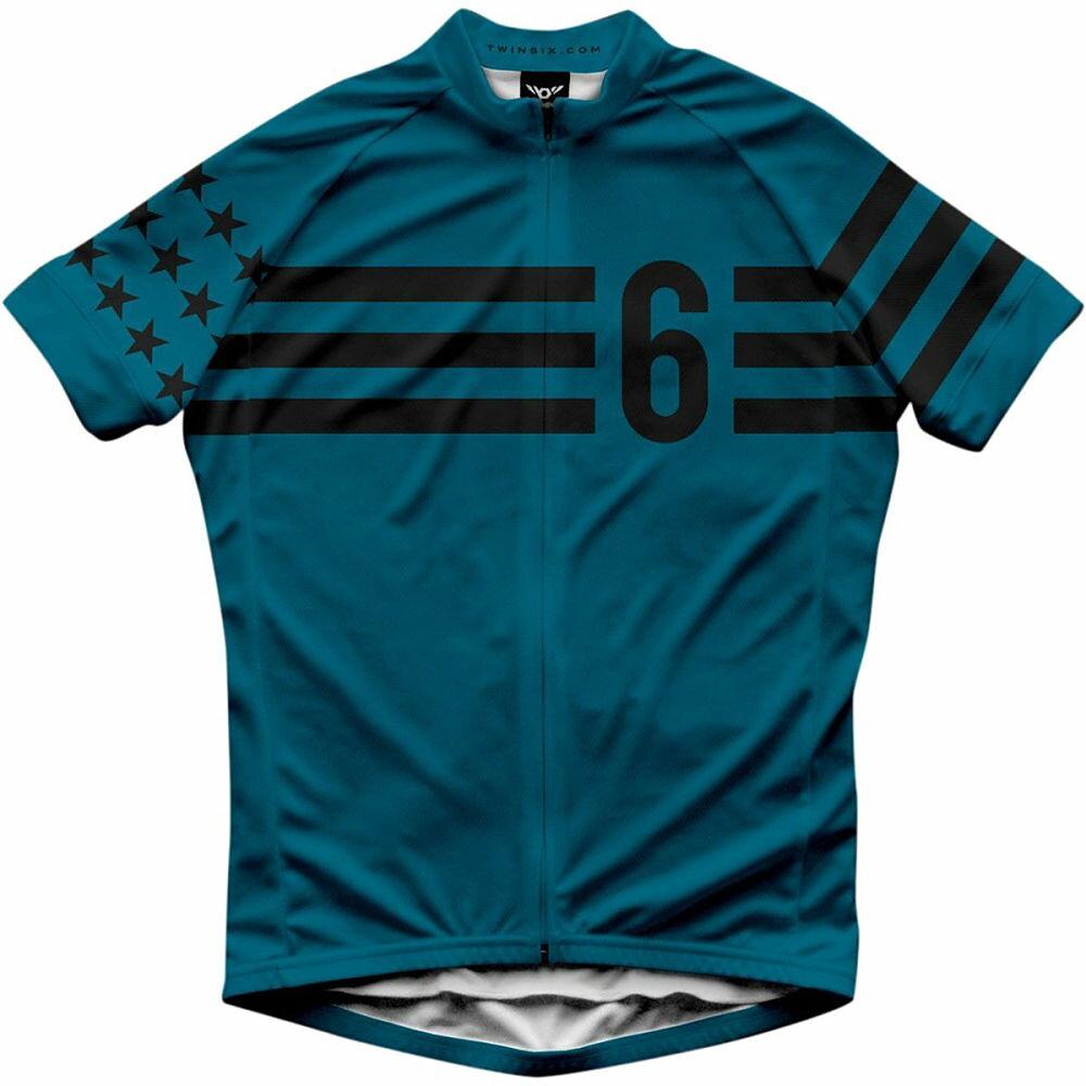 ツインシックス メンズ 自転車 トップス【Stars & Stripes Jerseys】Blue