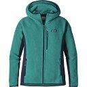 パタゴニア レディース アウター ジャケット【Performance Better Sweater Hooded Fleece Jacket】Elwha Blue