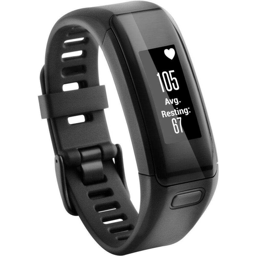ガーミン レディース 腕時計【Vivosmart HR Activity Tracker】Black