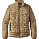 パタゴニア メンズ アウター ジャケット【Nano Puff Insulated Jackets】Mojave Khaki