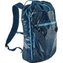 パタゴニア メンズ バッグ バックパック・リュック【Lightweight Black Hole 20L Cinch Backpack】Big Sur Blue