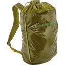 パタゴニア メンズ バッグ バックパック・リュック【Lightweight Black Hole 20L Cinch Backpack】Golden Jungle