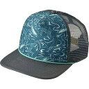 パタゴニア レディース 帽子 キャップ【Wave Worn Interstate Hat】Nouveau Green