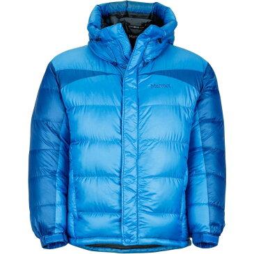 マーモット メンズ アウター ダウン・中綿ジャケット【Greenland Baffled Down Jackets】Clear Blue/Dark Cerulean