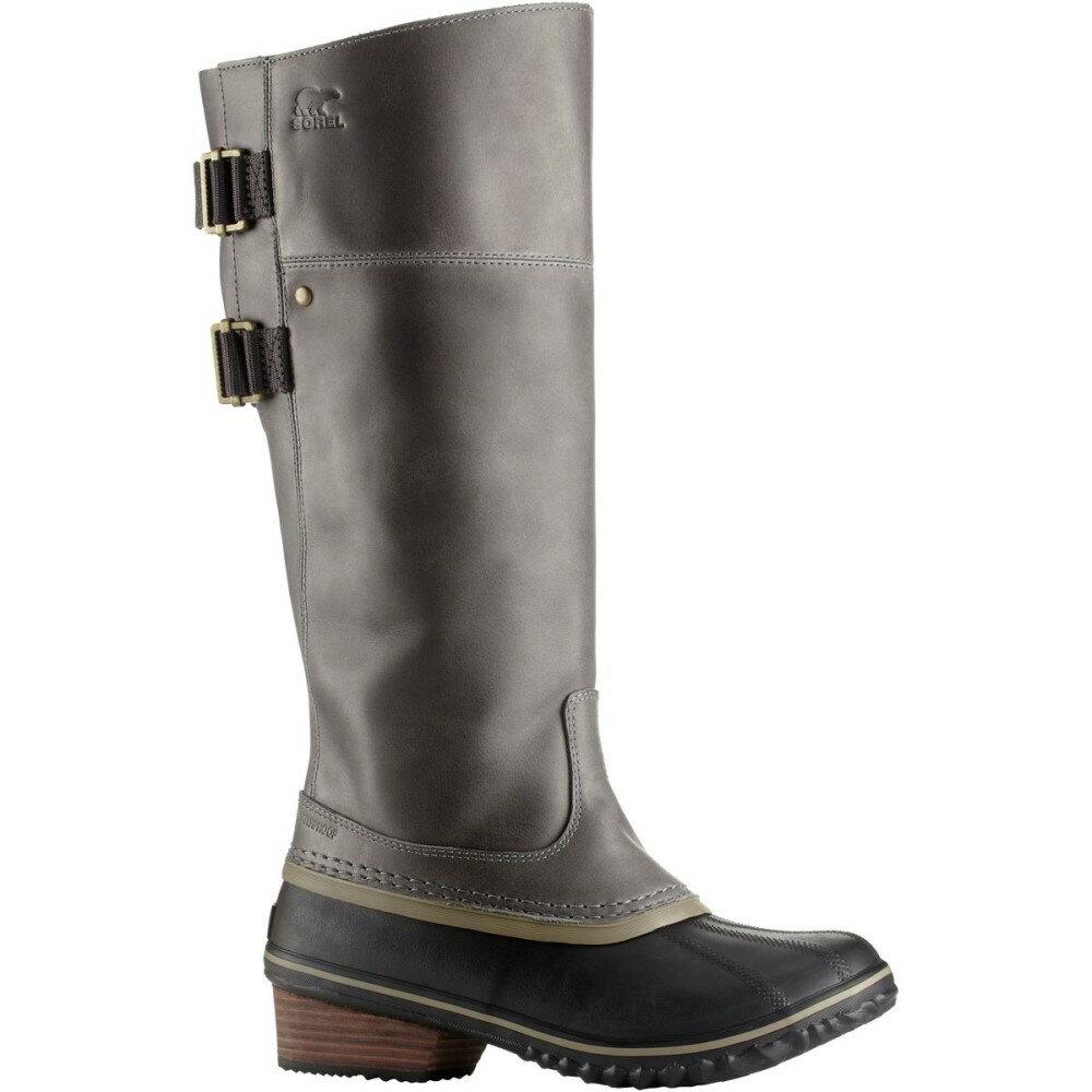ソレル レディース シューズ・靴 ブーツ【Slimpack Riding Tall II Boot】Quarry/Pebble