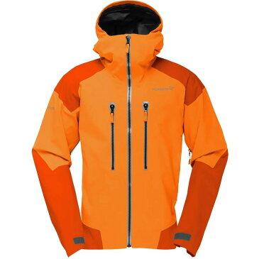 ノローナ メンズ アウター ジャケット【Trollveggen Gore - Tex Pro Jackets】Pure Orange