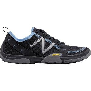 ニューバランス レディース ランニング・ウォーキング シューズ・靴【10v1 Minimus Running Shoe】Black/Blue